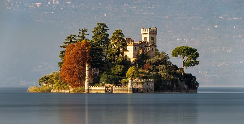 Monte Isola in autunno